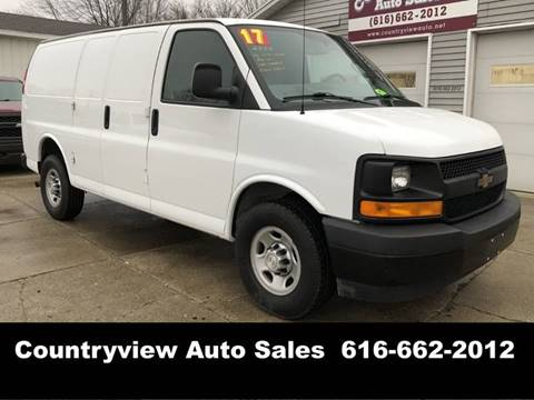 03cb9df452b22a 2017 Chevrolet Express Cargo for sale in Hudsonville