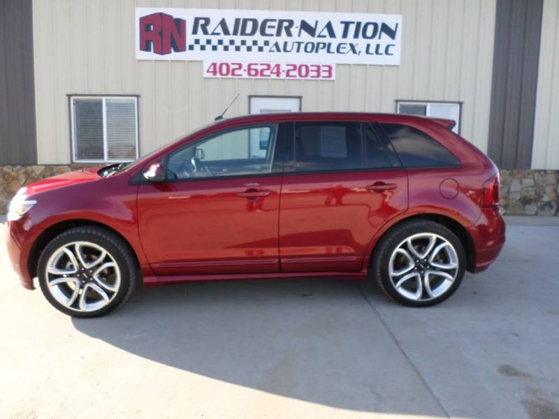 2013 ford edge sport awd 4dr crossover in mead ne - raider nation