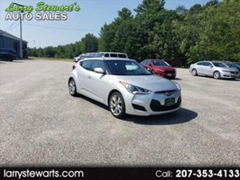 2016 Hyundai Veloster for sale in Lisbon, ME