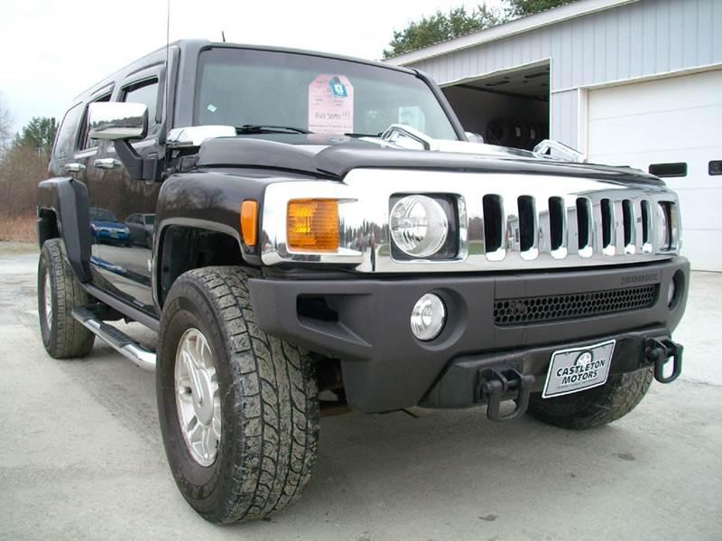 2006 HUMMER H3 for sale at Castleton Motors LLC in Castleton VT