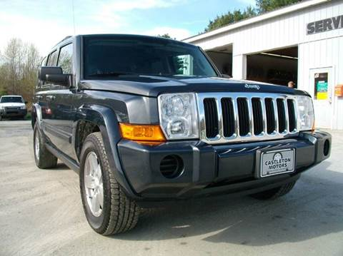 2007 Jeep Commander for sale at Castleton Motors LLC in Castleton VT