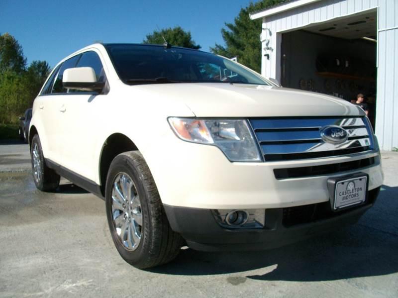 2007 Ford Edge for sale at Castleton Motors LLC in Castleton VT