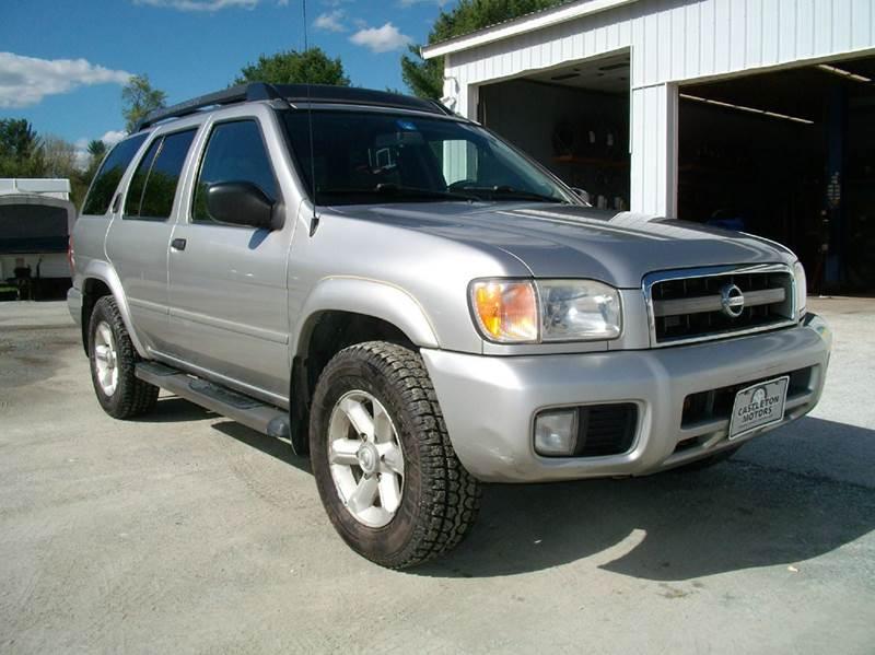 2004 Nissan Pathfinder for sale at Castleton Motors LLC in Castleton VT