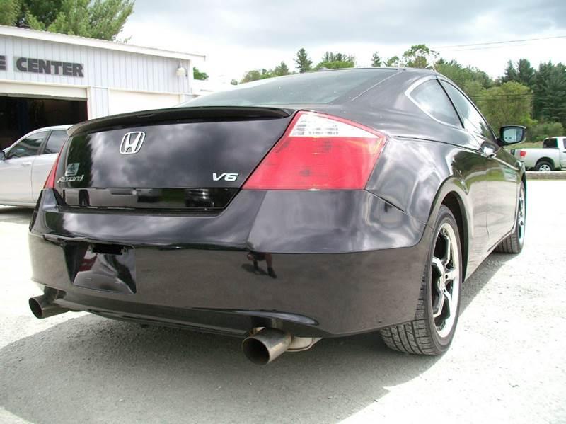 2008 Honda Accord EX L V6 2dr Coupe 5A - Castleton VT