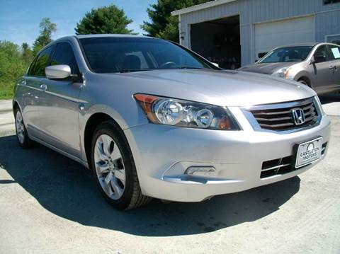 2008 Honda Accord for sale at Castleton Motors LLC in Castleton VT