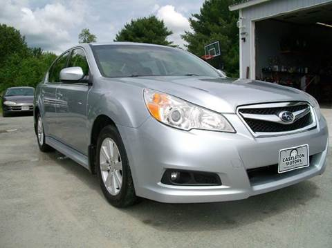 2012 Subaru Legacy for sale at Castleton Motors LLC in Castleton VT