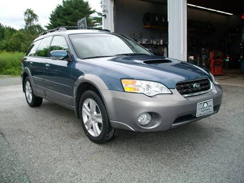2006 Subaru Outback for sale at Castleton Motors LLC in Castleton VT