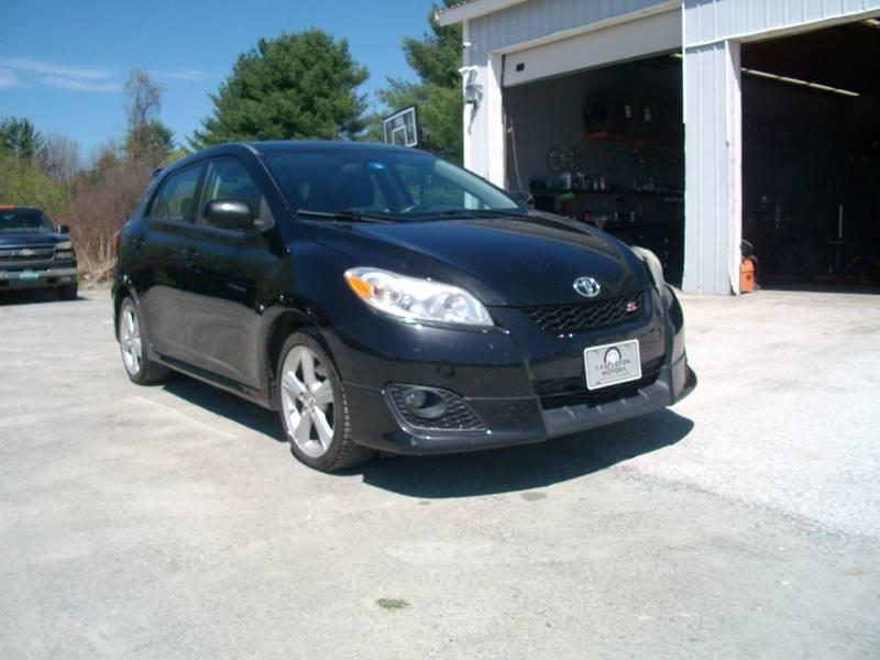 2010 Toyota Matrix for sale at Castleton Motors LLC in Castleton VT