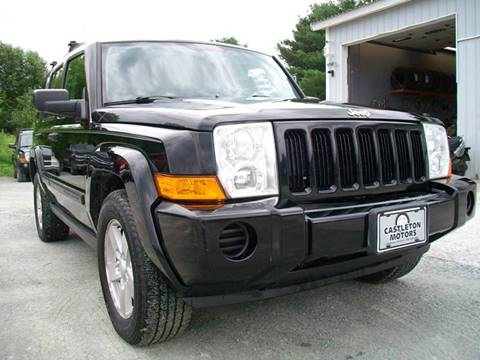 2006 Jeep Commander for sale at Castleton Motors LLC in Castleton VT