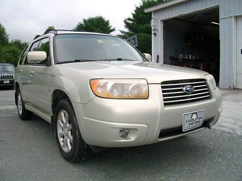 2006 Subaru Forester for sale at Castleton Motors LLC in Castleton VT