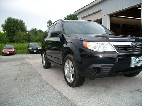 2009 Subaru Forester for sale at Castleton Motors LLC in Castleton VT