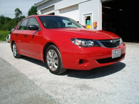 2008 Subaru Impreza for sale at Castleton Motors LLC in Castleton VT