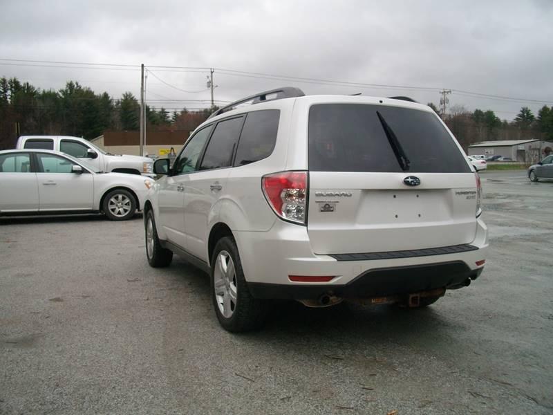 2010 Subaru Forester AWD 2.5X Premium 4dr Wagon 5M - Castleton VT
