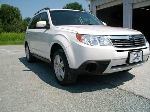 2010 Subaru Forester for sale in Castleton, VT