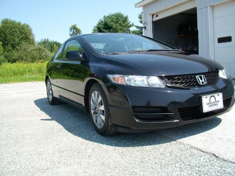 2010 Honda Civic for sale at Castleton Motors LLC in Castleton VT