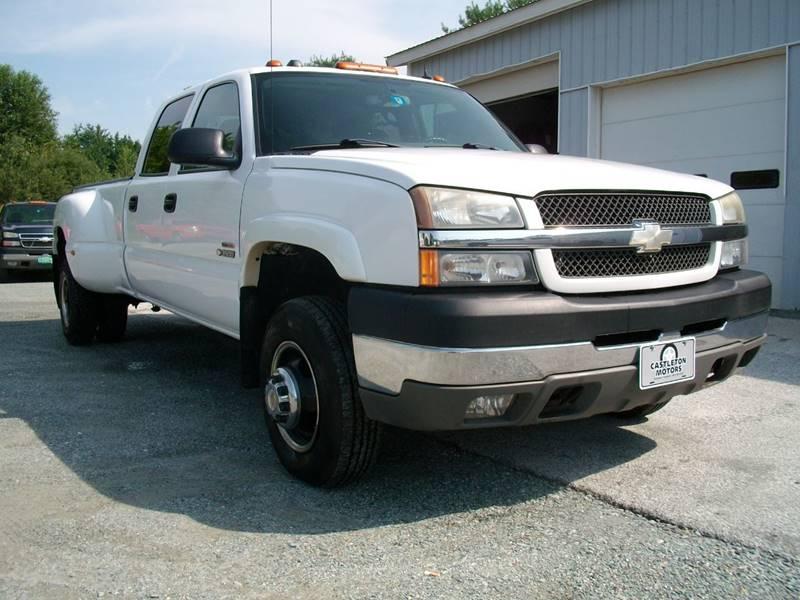 2004 Chevrolet Silverado 3500 for sale at Castleton Motors LLC in Castleton VT