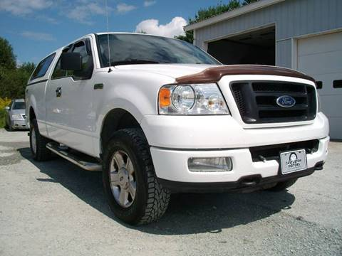2005 Ford F-150 for sale at Castleton Motors LLC in Castleton VT