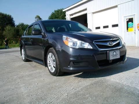 2011 Subaru Legacy for sale in Castleton, VT