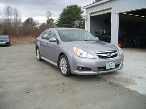 2010 Subaru Legacy for sale at Castleton Motors LLC in Castleton VT