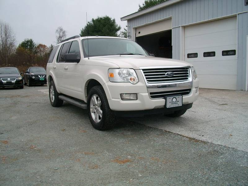 2010 Ford Explorer for sale at Castleton Motors LLC in Castleton VT