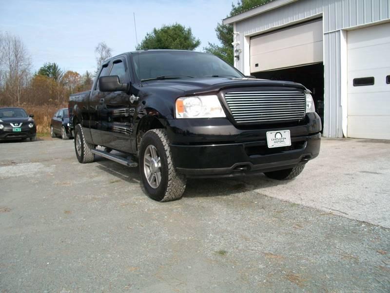2008 Ford F-150 for sale at Castleton Motors LLC in Castleton VT