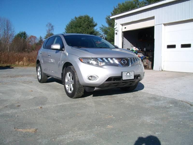 2009 Nissan Murano for sale at Castleton Motors LLC in Castleton VT