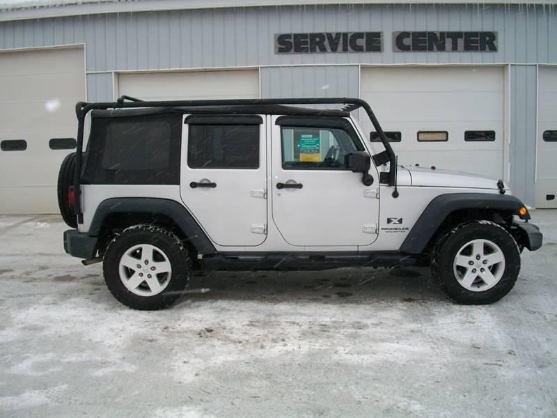 2007 Jeep Wrangler Unlimited 4x4 X 4dr SUV - Castleton VT