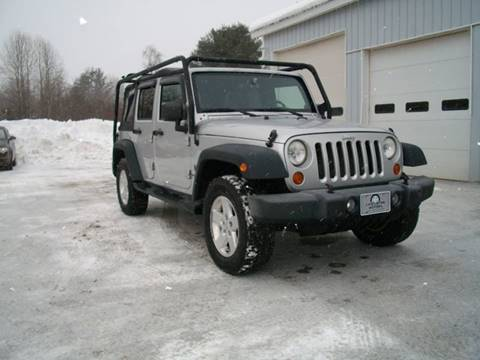 2007 Jeep Wrangler Unlimited for sale at Castleton Motors LLC in Castleton VT