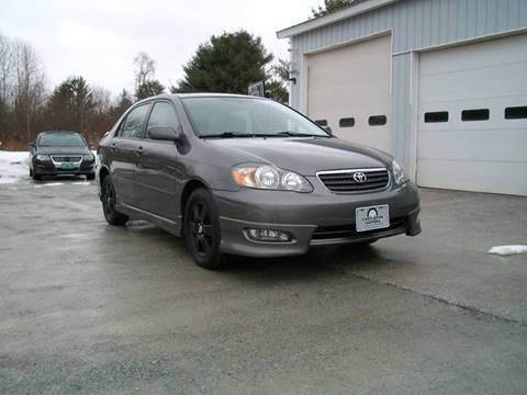 2008 Toyota Corolla for sale at Castleton Motors LLC in Castleton VT