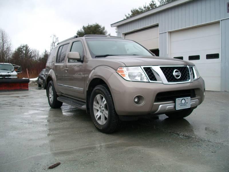 2008 Nissan Pathfinder for sale at Castleton Motors LLC in Castleton VT