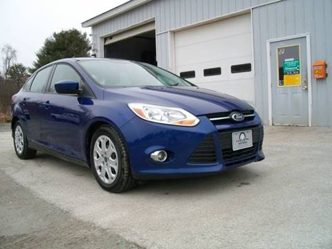2012 Ford Focus for sale at Castleton Motors LLC in Castleton VT