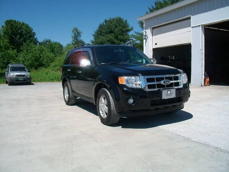 2012 Ford Escape for sale at Castleton Motors LLC in Castleton VT