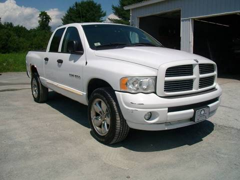 2005 Dodge Ram Pickup 1500 for sale at Castleton Motors LLC in Castleton VT