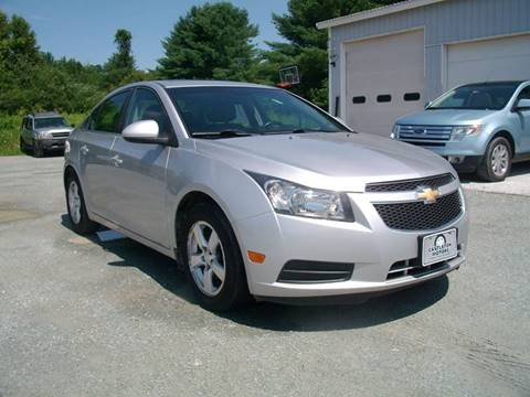 2011 Chevrolet Cruze for sale at Castleton Motors LLC in Castleton VT