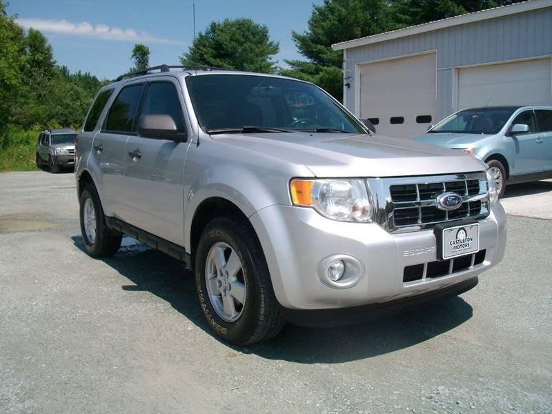 2011 Ford Escape for sale at Castleton Motors LLC in Castleton VT