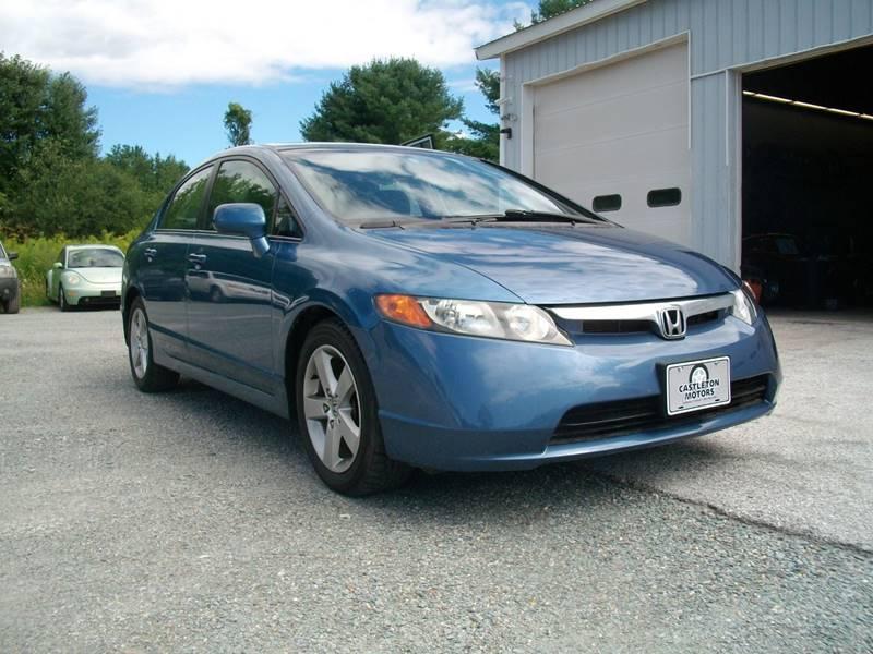 2007 Honda Civic for sale at Castleton Motors LLC in Castleton VT