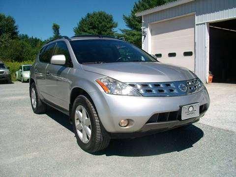 2004 Nissan Murano for sale at Castleton Motors LLC in Castleton VT