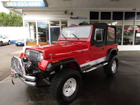 1993 Jeep Wrangler for sale in Portland, OR