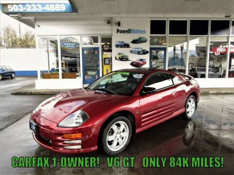 2000 Mitsubishi Eclipse for sale at Powell Motors Inc in Portland OR