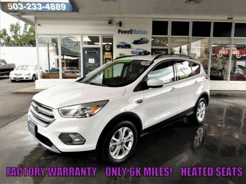 2018 Ford Escape for sale at Powell Motors Inc in Portland OR