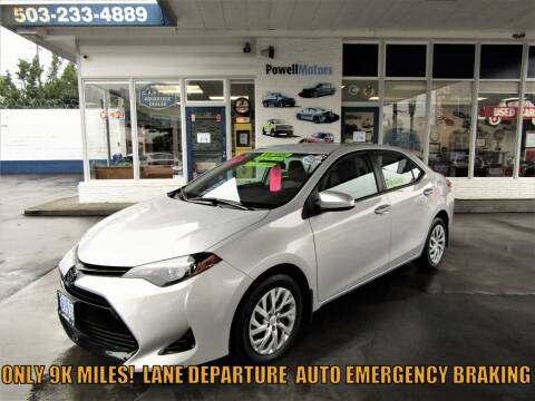 2019 Toyota Corolla for sale at Powell Motors Inc in Portland OR