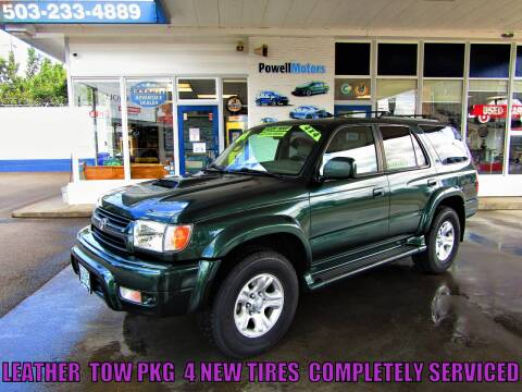 2001 Toyota 4Runner for sale at Powell Motors Inc in Portland OR