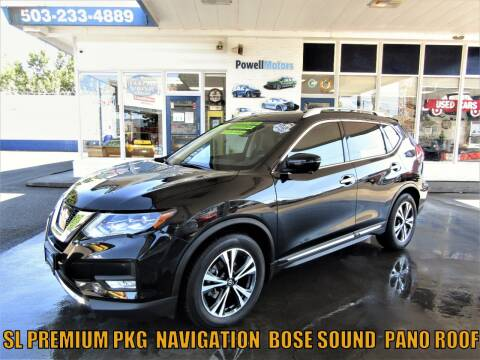 2017 Nissan Rogue for sale at Powell Motors Inc in Portland OR