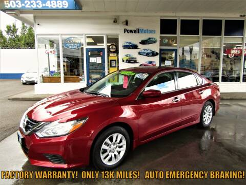 2018 Nissan Altima for sale at Powell Motors Inc in Portland OR