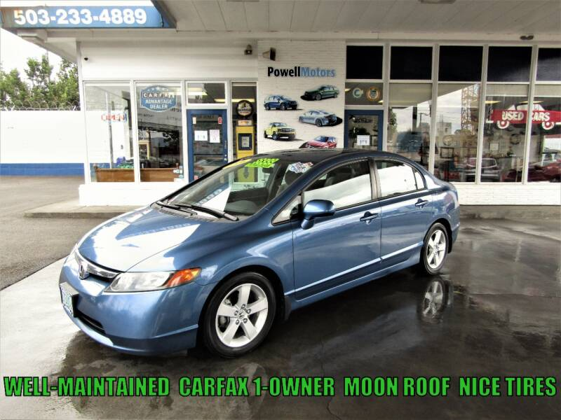 2006 Honda Civic for sale at Powell Motors Inc in Portland OR