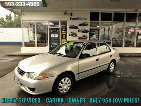 2002 Toyota Corolla for sale at Powell Motors Inc in Portland OR
