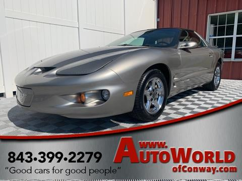 2002 Pontiac Firebird for sale in Conway, SC