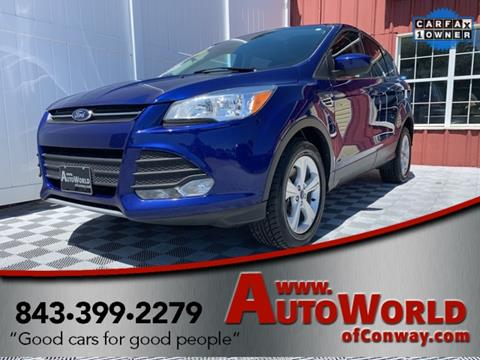 2015 Ford Escape for sale in Conway, SC