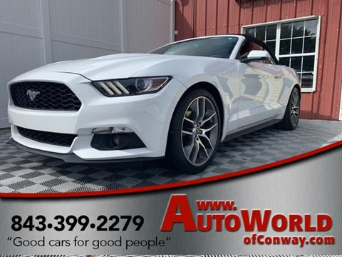 2015 Ford Mustang for sale in Conway, SC