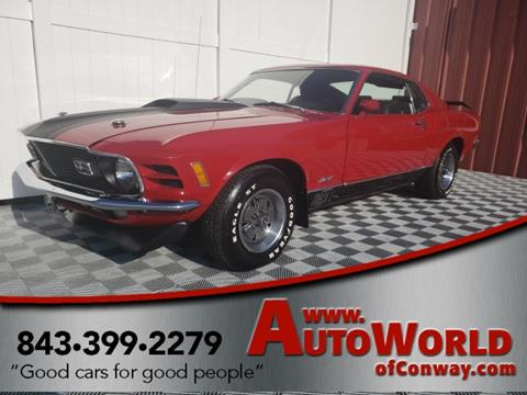 1970 Ford Mustang for sale in Conway, SC